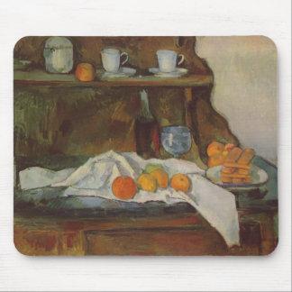 Paul Cezanne- la comida fría Tapete De Ratón