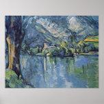 Paul Cezanne - lago annecy Impresiones
