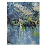 Paul Cézanne - lago annecy Tarjeta Postal