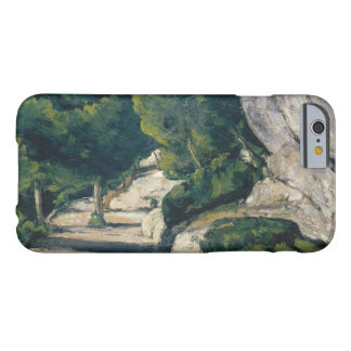 Paul Cezanne - Landscape. Road with Trees in Rocky Barely There iPhone 6 Case