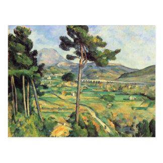 Paul Cezanne- Landscape with viaduct Postcard