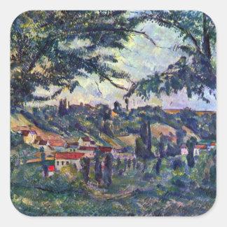 Paul Cezanne - Le Chateau Noir Stickers