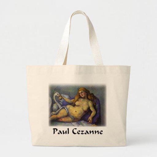 Paul Cezanne - Leda con el cisne Bolsa