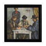 Paul Cézanne - los jugadores de tarjeta Caja De Regalo