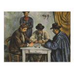 Paul Cézanne - los jugadores de tarjeta Postales