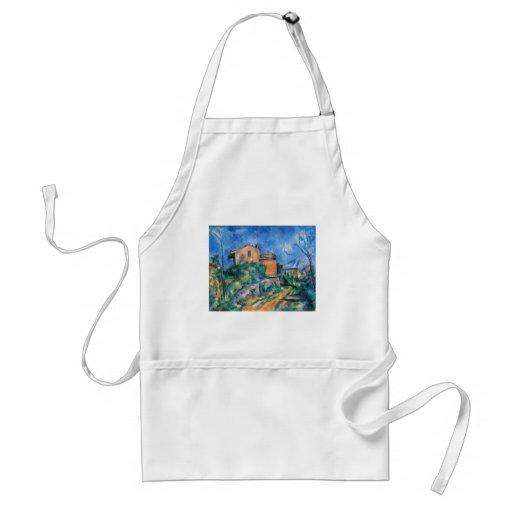 Paul Cezanne - Maison Maria Adult Apron