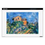 Paul Cezanne- Maison Maria con vistas a castillo f Calcomanía Para Portátil