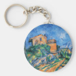 Paul Cezanne - Maison Maria Keychains