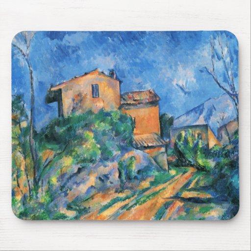 Paul Cezanne - Maison Maria Mouse Pads