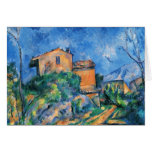 Paul Cezanne - Maison Maria Tarjeta