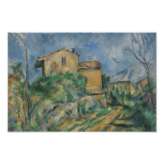 Paul Cezanne - Maison Maria with a View of Chateau Poster