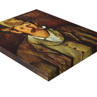 Paul Cezanne- Man with a Pipe Canvas Prints