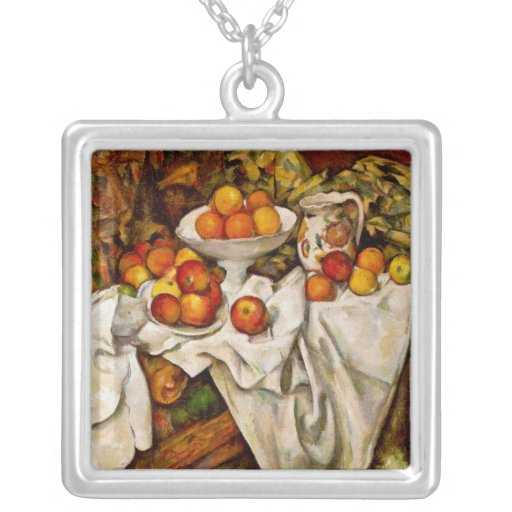 Paul Cézanne - manzanas y naranjas Colgantes