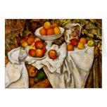 Paul Cézanne - manzanas y naranjas Felicitacion