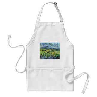 Paul Cezanne - Mont Sainte-Victoire Adult Apron