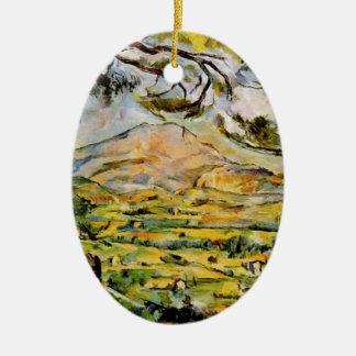 Paul Cezanne- Mont Sainte-Victoire Ornamento Para Arbol De Navidad