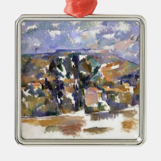 Paul Cezanne- Mont Sainte-Victoire from les Lauves Christmas Ornament