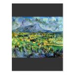 Paul Cezanne - Mont Sainte-Victoire Postal