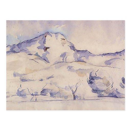 Paul Cezanne- Mont Sainte-Victoire Post Card