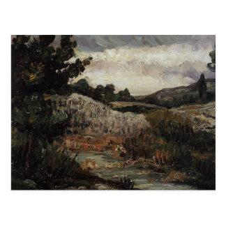 Paul Cezanne- Mont Sainte-Victoire Postcard