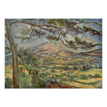 Paul Cezanne - Mont Sainte-Victoire Poster