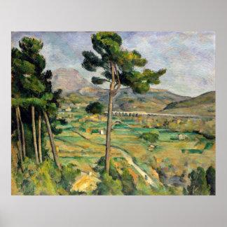 Paul Cezanne Mont Sainte-Victoire Poster