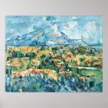 Paul Cezanne - Mont Sainte-Victoire Posters