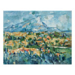 Paul Cezanne - Mont Sainte-Victoire Print