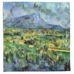 Paul Cezanne - Mont Sainte-Victoire Servilleta De Papel