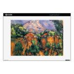 Paul Cezanne- Mont Sainte-Victoire Calcomanías Para 38,1cm Portátiles