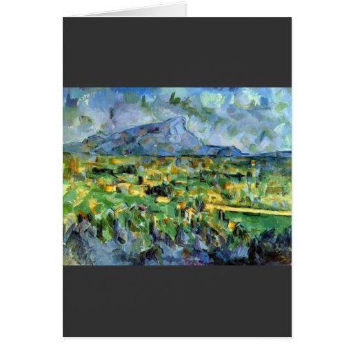 Paul Cezanne - Mont Sainte-Victoire Tarjeta