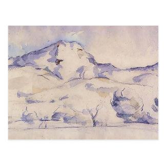 Paul Cezanne- Mont Sainte-Victoire Postal