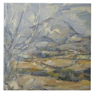 Paul Cezanne - Montagne Sainte-Victoire Tile