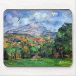 Paul Cezanne - Mount St Victoire Mouse Pads