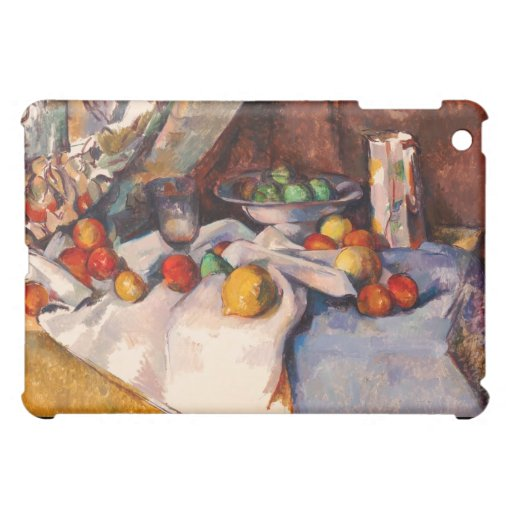 Paul Cezanne Nature morte (Still Life with Apples) Case For The iPad Mini