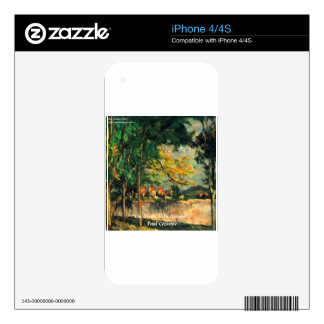 Paul Cezanne Nature Painting & Quote Decals For The iPhone 4S