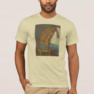 Paul Cezanne - negro Playera