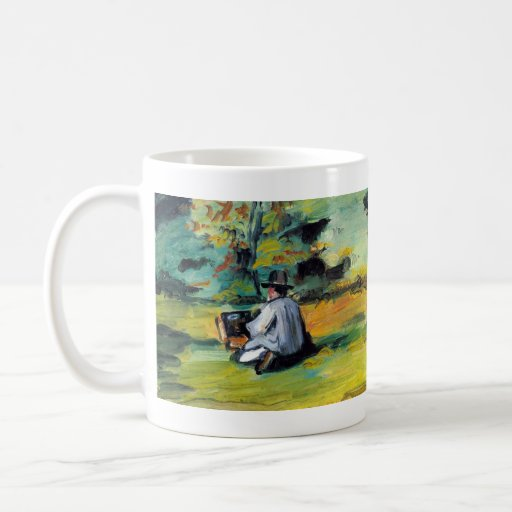 Paul Cezanne - Painter at Work Classic White Coffee Mug