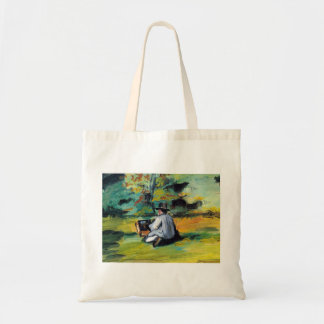 Paul Cezanne - Painter at Work Tote Bag