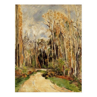 Paul Cezanne- Path at the Entrance to the Forest Postcard