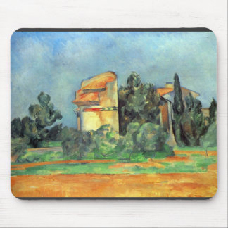 Paul Cezanne - Pigeonry in Bellvue Mouse Pad
