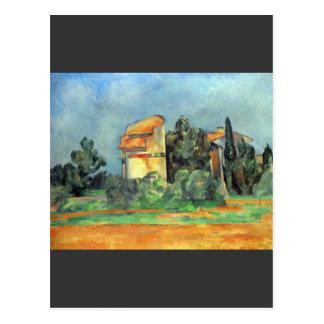 Paul Cezanne - Pigeonry in Bellvue Postcard