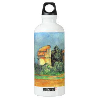 Paul Cezanne - Pigeonry in Bellvue Water Bottle