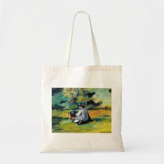 Paul Cezanne - pintor en el trabajo Bolsas
