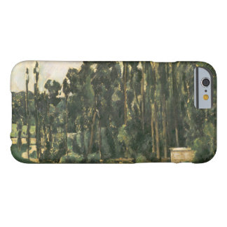 Paul Cezanne - Poplars Barely There iPhone 6 Case