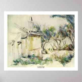 Paul Cezanne Póster