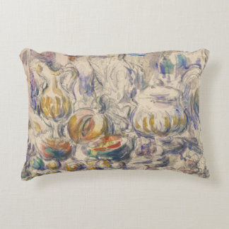 Paul Cezanne - Pot and Soup Tureen Decorative Pillow