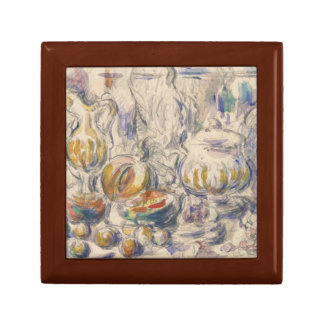 Paul Cezanne - Pot and Soup Tureen Keepsake Box