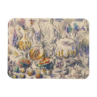 Paul Cezanne - Pot and Soup Tureen Magnet