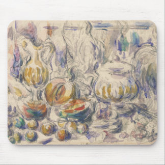 Paul Cezanne - Pot and Soup Tureen Mouse Pad